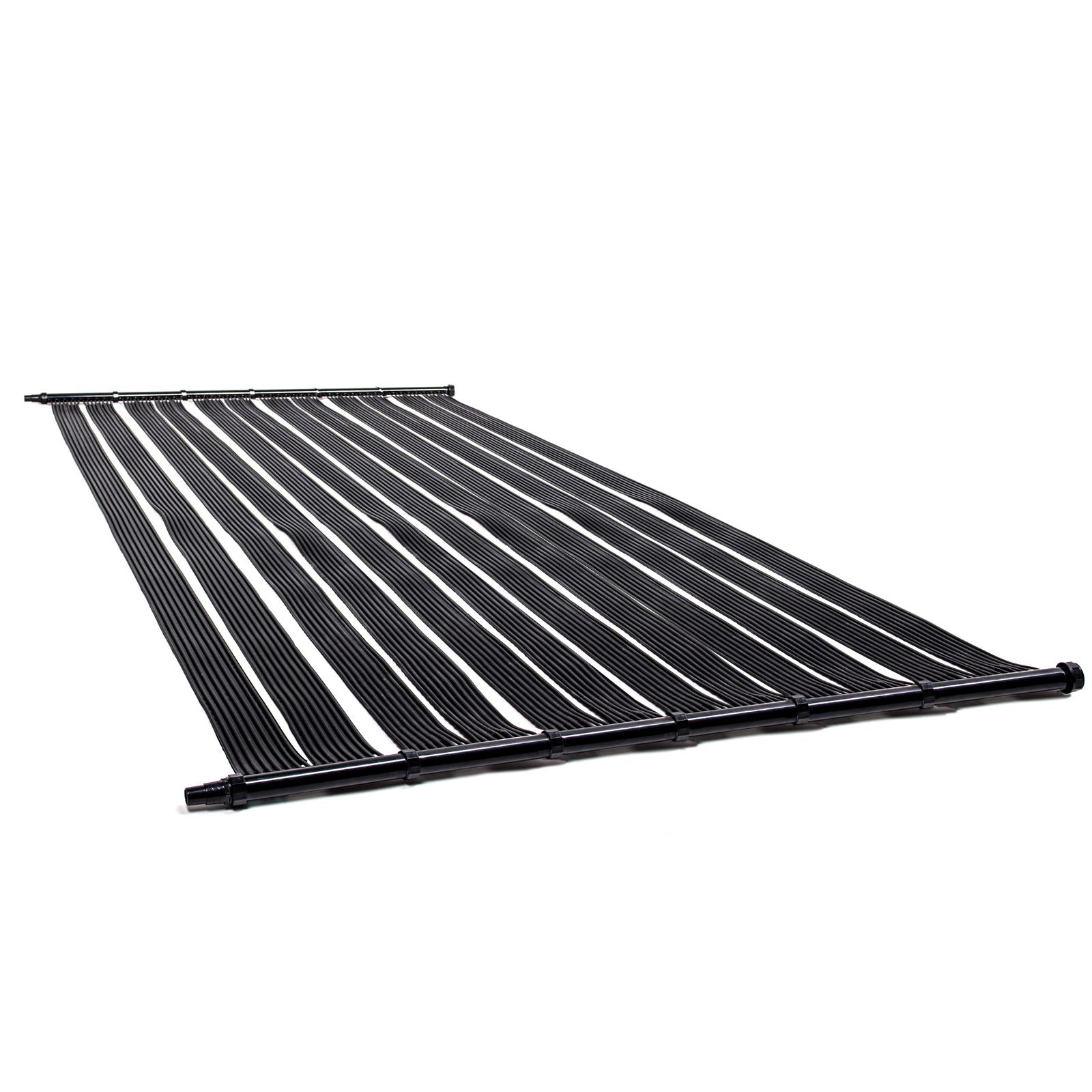 poolheizung solar solarheizung solarmatte solarabsorber solarkollektor bypass ebay. Black Bedroom Furniture Sets. Home Design Ideas